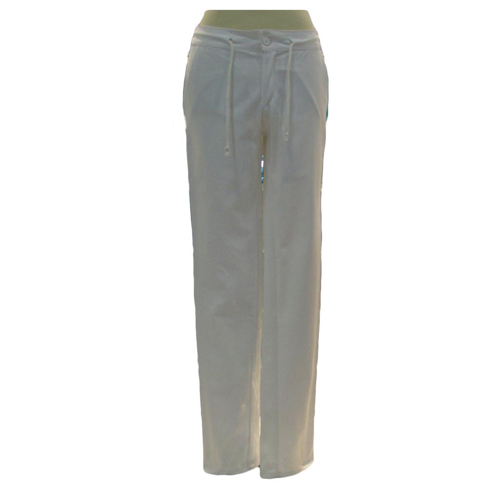 Pantaloni vita bassa donna
