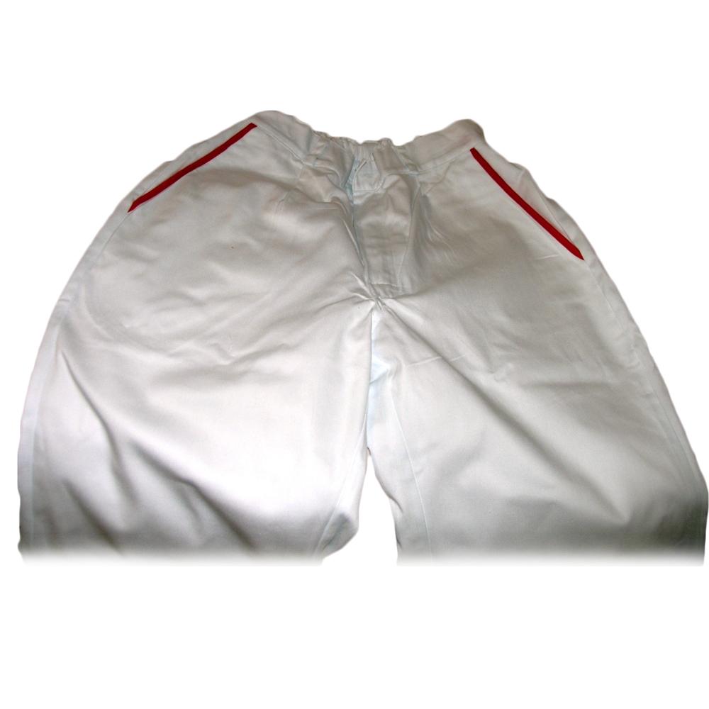Pantalone con profilo su taschino posteriore